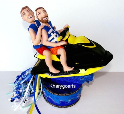 Custom Made Just Engaged, Nautical Wedding Party, Engagement Gifts For Couple, Gay Wedding, Gay Engagement Gift