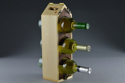 Custom Made 6-3-1 Wine Tote