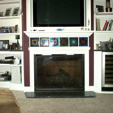 Custom Made Fire Place Tiles