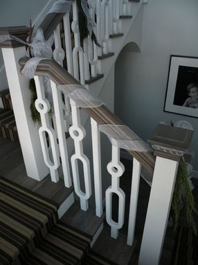 Custom Made Custom Contemporary Staircase