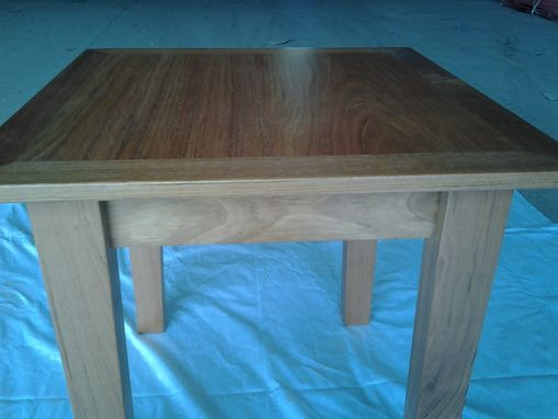 Custom Made Brazillian Cherry End Table