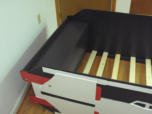 Custom Made X-Wing Starfighter Twin Kids Bed Frame - Handcrafted - Space Themed Children's Bedroom Furnitue