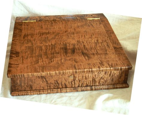 Custom Made Tiger Maple Lap Desk