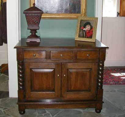 Custom Made Oak Hall Chest