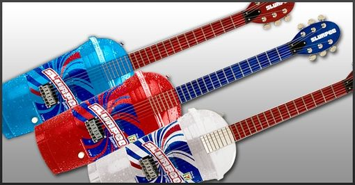 Custom Made Hitone Slurpee Guitars