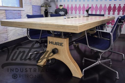 Custom Made Plywood Hure Conference Table