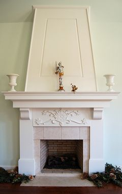 Custom Made Custom Carved Mantel