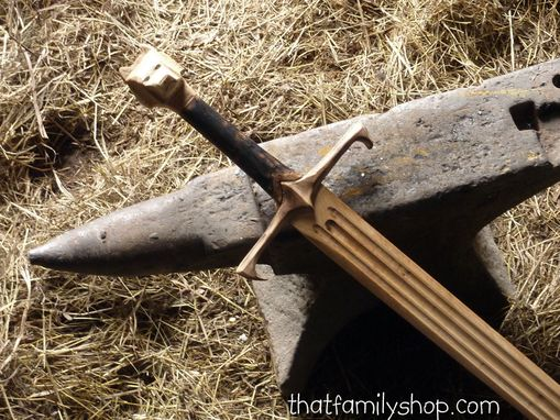 Custom Made Longclaw-Inspired Sword Of Jon Snow Game Of Thrones Got Wood Replica