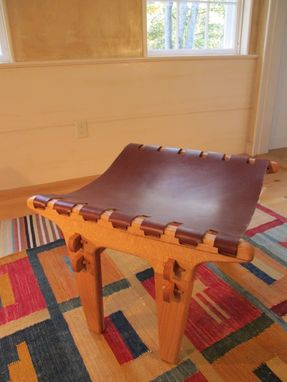 Custom Made The Sling Stool: A Perfect Companion To The Sling Chair