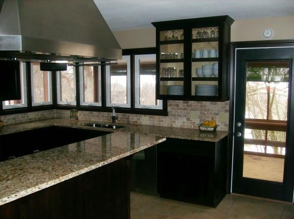Hand Crafted Modern Cherry Kitchen by Nauman Construction ...