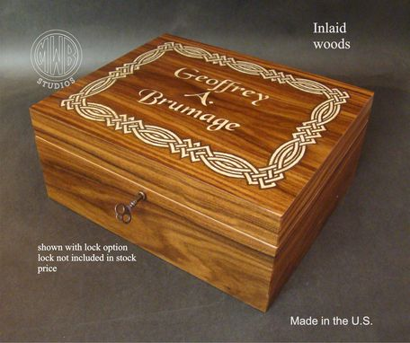 Custom Made Custom Humidor Hd-50 With Free Shipping Within The U.S.