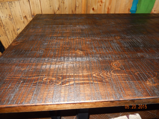 Custom Made Handcrafted Dining Table