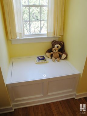 Custom Made Custom Cabinetry : Built-In Window Seat With Storage