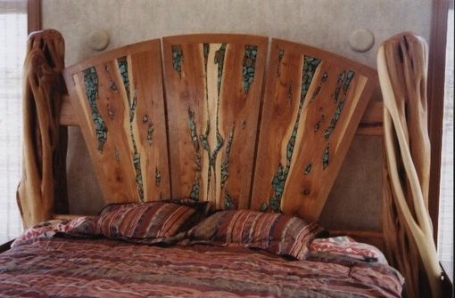 Custom Made Juniper Fan Bed
