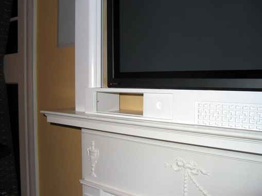 Custom Made Mantel Shelf Plasma Screen Surround