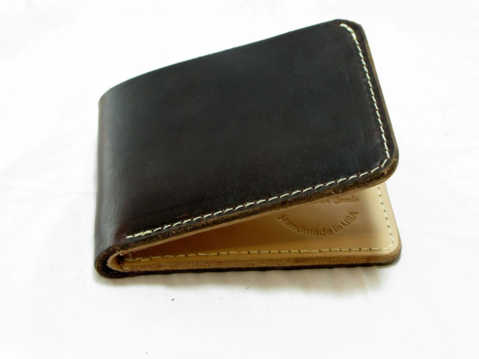 Custom Handmade Leather Billfold Wallet Classic By Jaw