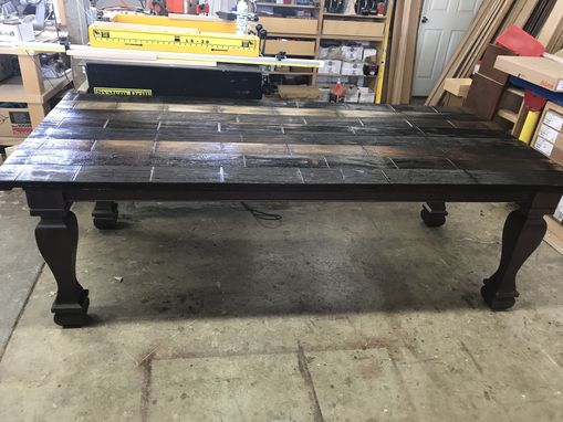 Custom Made Reclaimed Water Tank Dining Table