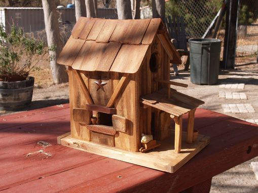 Custom Made Bird Houses