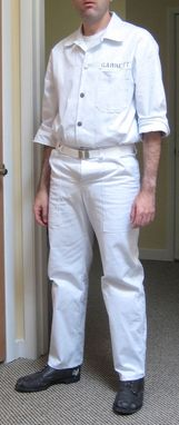 Custom Made Vintage Prison Uniform