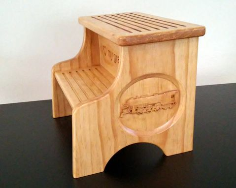 Custom Made Personalized Step Stool