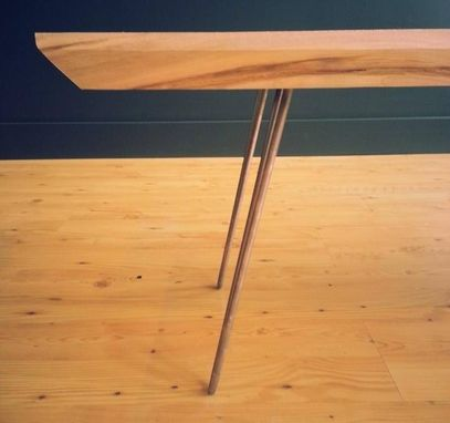 Custom Made Maple Mid-Century Modern Coffee Table