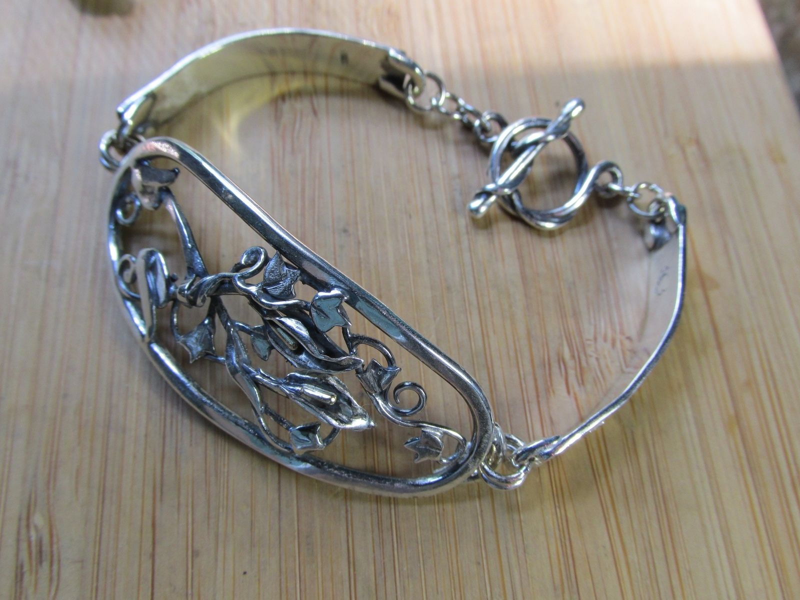 Custom Made Calla Lily Bracelet