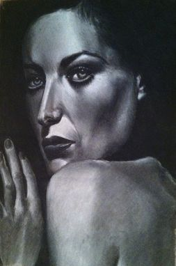 Custom Made Joan Crawford Portrait