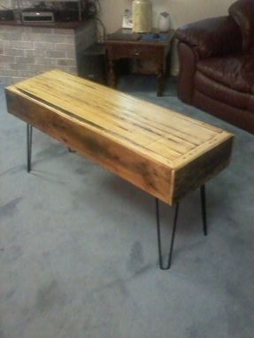 Custom Made Coffee Table.