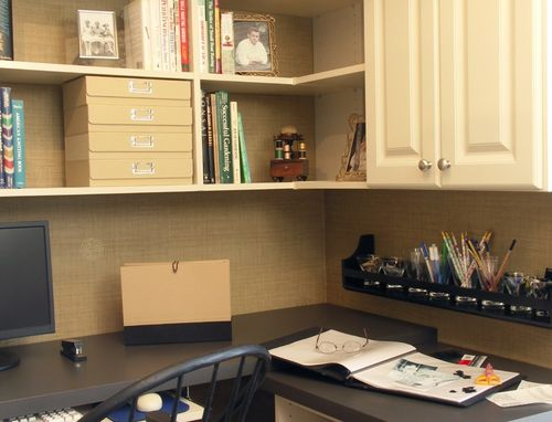 Custom Made A Well Organized Home Office