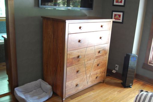Custom Made 5 Drawer Chest Art Deco Style
