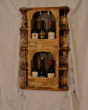 Custom Made Rustic Wine Rack Wr6000