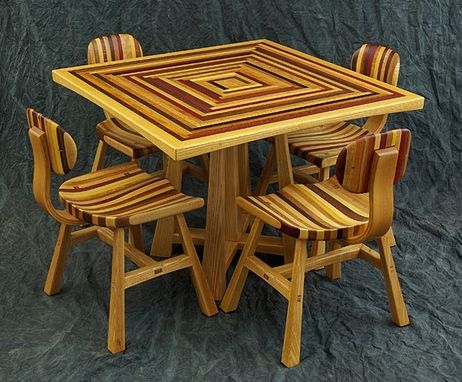 Custom Made 5 Leg Table