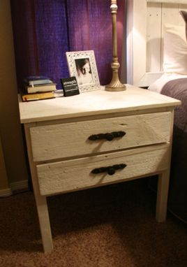 Custom Made Bedside Table