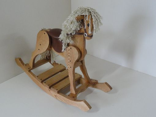 Custom Made Childs Rocking Horse