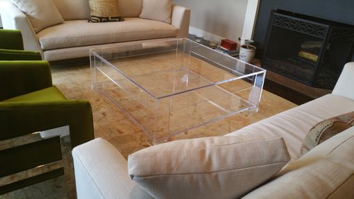 Custom Made Square Cocktail Table