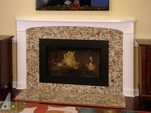 Custom Made Painted Fireplace Mantel