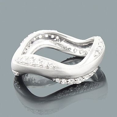 Custom Made Thin Luccello Designer Diamond Eternity Band