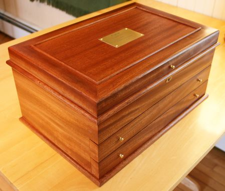 Custom Made Commissioned Jewelry Box