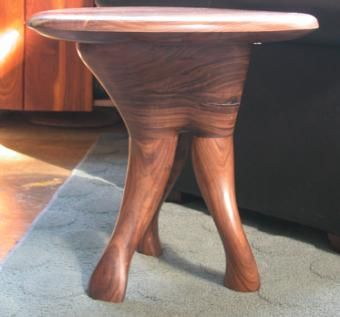 Custom Made 'Trunk Shrub' Side Table