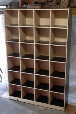 Custom Made Storage Cubbie Cabinet