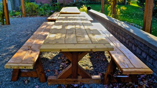 Custom Made Outdoor Dining Tables