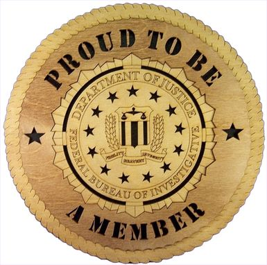 Custom Made Proud To Be A Member Wall Tribute, Proud To Be A Member Hand Made Gift