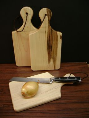 Custom Made Maple Cutting Board / Cheese Board