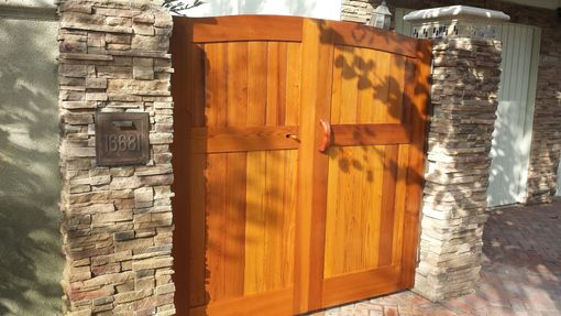 Custom Made Cedar Gates Through/Wedged Mortise And Tenon Joinery