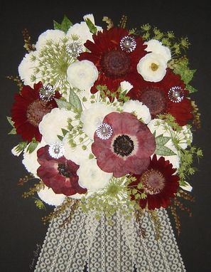 Custom Made Elizabeth's Preserved Bridal Bouquet ~*