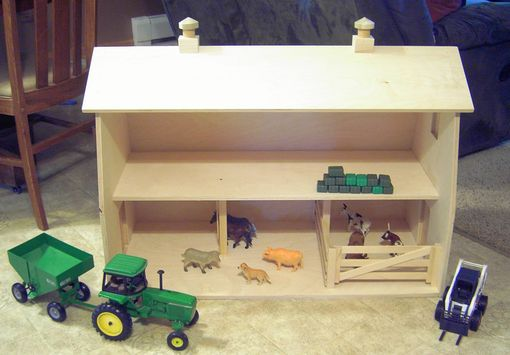 Custom Made Toy Barn