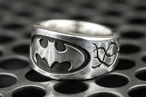Custom Made Batman Vine Engagement Ring