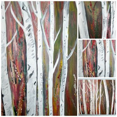 Custom Made 'Birch Tree'
