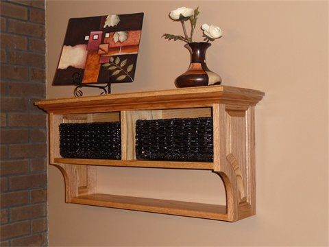 Custom Made Small Mantel