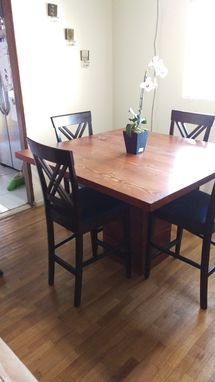 Custom Made Reclaimed Doug Fir Dinning Table